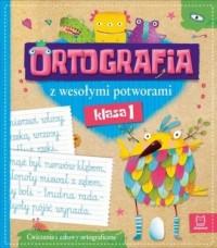 Ortografia z wesołymi potworami - okładka podręcznika