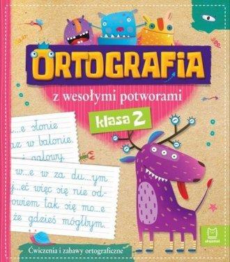 Ortografia z wesołymi potworami. - okładka podręcznika