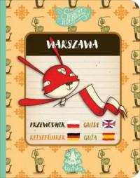 Przewodnik Warszawa - okładka książki