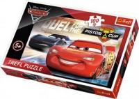 Cars 3. Priston Cup (puzzle - 100 elem.) - zdjęcie zabawki, gry