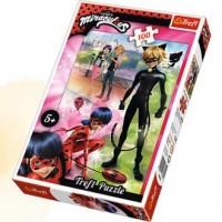 Przygody Ladybud i Cat Noir(puzzle - zdjęcie zabawki, gry