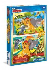 Król Lew. Puzzle 2W1 - Wydawnictwo - zdjęcie zabawki, gry