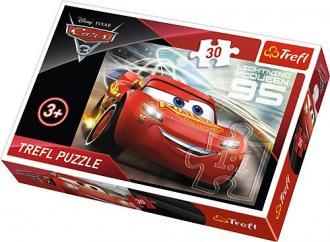 Cars 3. Zygzak MCQueen(puzzle - - zdjęcie zabawki, gry