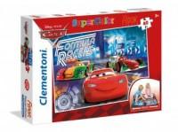Podłogowe Cars (puzzle + 40 elem.) - zdjęcie zabawki, gry