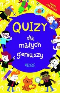 Quizy dla małych geniuszy - Lauren - okładka książki