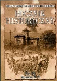 Rocznik Historyczny MHPRL nr 32 - okładka książki