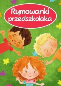 Rymowanki przedszkolaka - okładka książki