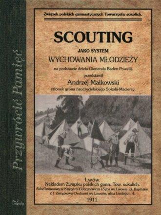 Scouting jako system wychowania - okładka książki