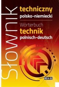 Słownik techniczny polsko-niemiecki - okładka książki