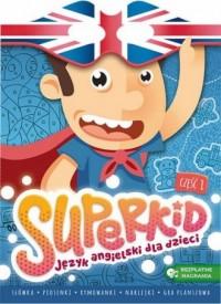 SUPERKID. Język angielski dla przedszkolaków - okładka podręcznika