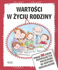 Wartości w życiu rodziny - okładka książki