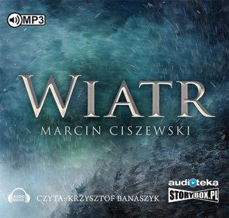 Wiatr - pudełko audiobooku