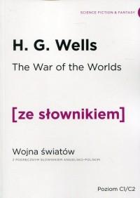 Wojna Światów. Wersja angielska - okładka książki