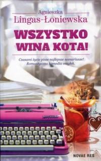 Wszystko wina kota! - okładka książki
