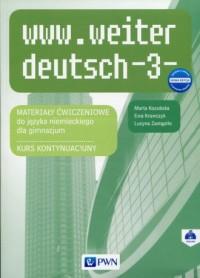 www.weiter_deutsch 3 Nowa edycja - okładka podręcznika