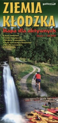 Ziemia Kłodzka Mapa dla aktywnych 1:50 000 - okładka książki