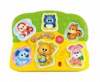 Zwierzaczkowe puzzle - zdjęcie zabawki, gry