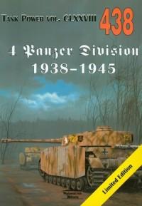 4 Panzer Division 1938-1945. Tank - okładka książki