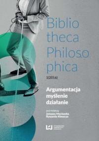 Argumentacja, myślenie, działanie - okładka książki