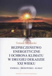 Bezpieczeństwo energetyczne i ochrona - okładka książki