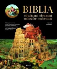 Biblia objaśniana obrazami mistrzów - okładka książki