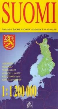 Finlandia, 1:1 200 000 - okładka książki