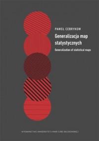 Generalizacja map statystycznych - okładka książki