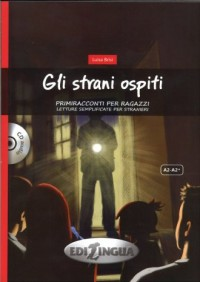 Gli strani ospiti (+ CD) - okładka książki