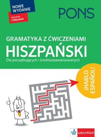 Gramatyka z ćwiczeniami Hiszpański. - okładka podręcznika