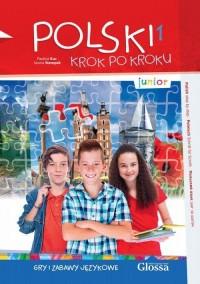 Gry i zabawy językowe junior - okładka podręcznika