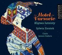 Hotel Varsovie Klątwa Lutnisty - pudełko audiobooku