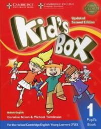 Kids Box 1. Pupils Book - okładka podręcznika