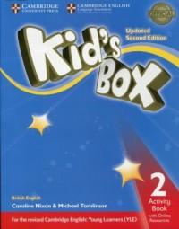 Kids Box 2. Activity Book with Online Resources - okładka podręcznika