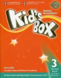 Kids Box 3. Activity Book with Online Resources - okładka podręcznika