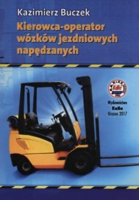 Kierowca operator wózków jezdniowych - okładka książki