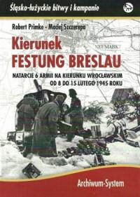 Kierunek Festung Breslau. Natarcie - okładka książki
