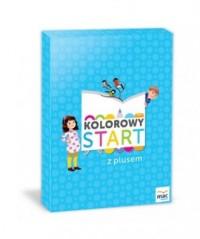 Kolorowy start z plusem. Box - - okładka podręcznika