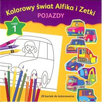 Kolorowy świat Alfika i Zetki. - okładka książki