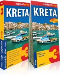 Kreta explore! Guide 3w1: przewodnik - okładka książki