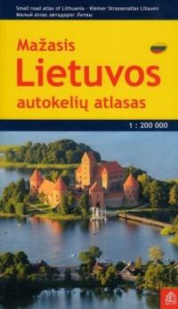 Litwa atlas samochodowy 1:200 000 - okładka książki