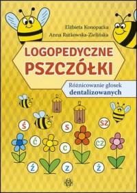 Logopedyczne pszczółki. Różnicowanie - okładka książki