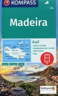 Madeira mapa samochodowa + przewodnik - okładka książki