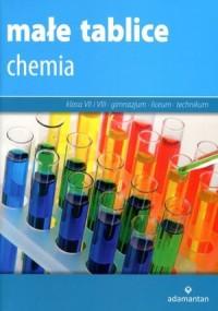 Małe tablice. Chemia - Wydawnictwo - okładka podręcznika