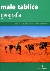 Małe tablice. Geografia - Wydawnictwo - okładka podręcznika