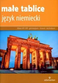 Małe tablice. Język niemiecki - okładka podręcznika