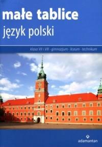 Małe tablice. Język polski - Wydawnictwo - okładka podręcznika
