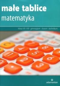 Małe tablice. Matematyka - okładka podręcznika