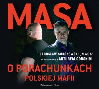Masa o porachunkach polskiej mafii - pudełko audiobooku