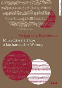 Muzyczne narracje o kochankach - okładka książki