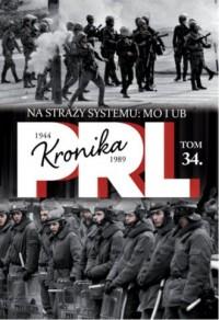 Kronika PRL 1944-1989. Tom 34. - okładka książki